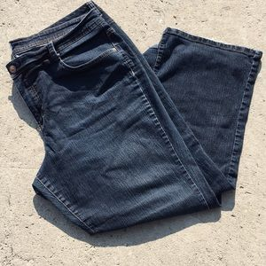 Just My Size stretch 26w average bootcut jeans.